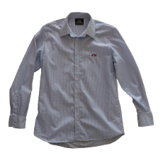 Shirt White Checked